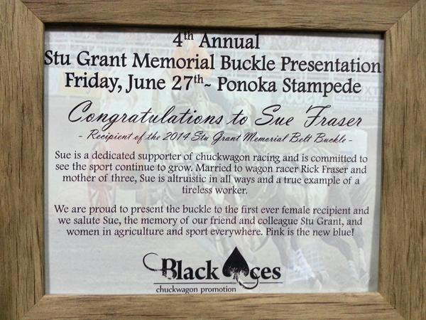 Stu Grant Memorial Award Certificate crop