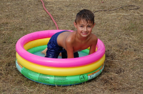 A splash in the pool