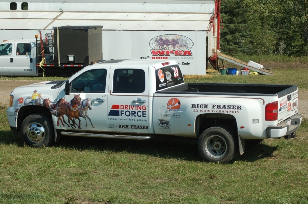 Vehicle Sponsore Midwest Pipeliine and Driving Foce! Thank you!!!