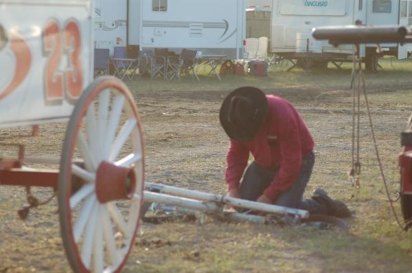 Fixin the Wagon
