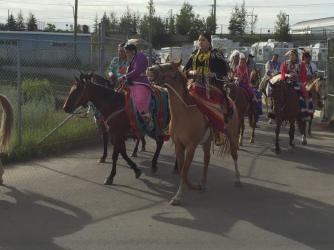 Colorful Native Riderss