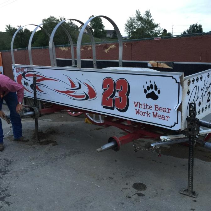 One Damaged Wagon