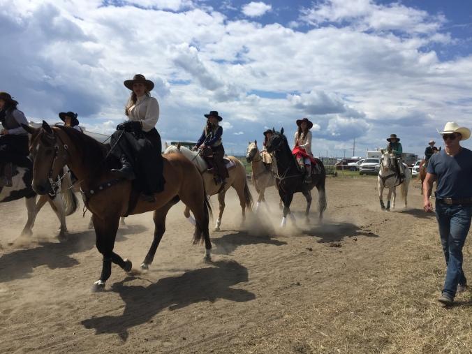Side Saddle Girl